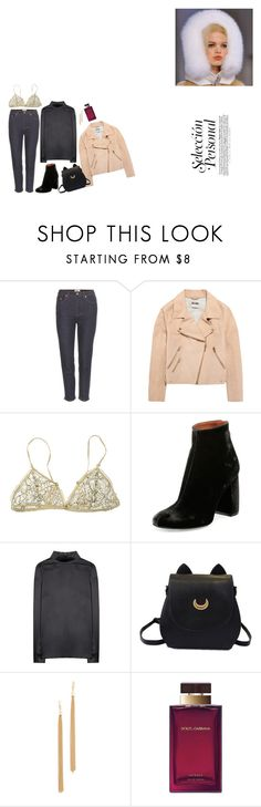 """""""young and hungry"""" by sodanceinthedark ❤ liked on Polyvore featuring Acne Studios, Forever 21, STELLA McCARTNEY, Dolce&Gabbana and Jules Smith"""