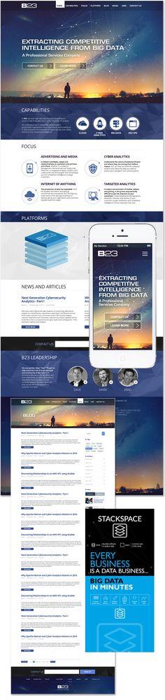 IT consulting website design