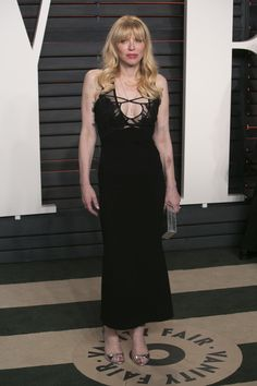 Courtney Love at the 2016 Vanity Fair Oscars Party