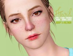 April female model by Shock & Shame - Sims 3 Downloads CC Caboodle
