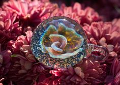 Glass Pendant by BourgeoisGlass. Click the picture to see more!