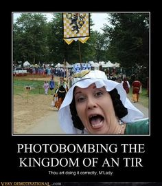 Because, even if I am not officially SCA, I still know that I live in the Kingdom of An Tir!  Yra!