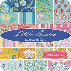 Little Azalea Charm PackDena Designs for Free Spirit Fabrics - Charm Packs & Squares | Fat Quarter Shop