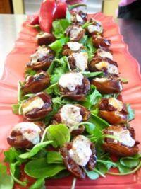 Ceja Vineyards - Recipes - Chorizo Stuffed Honey Dates with Manchego Cheese