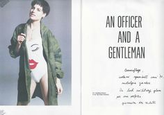 An officer and a gentleman - Urban Tribe #editorial on Urban magazine with #Hair & MakeUp by Barbara Bertuzzi!