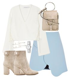 Untitled #2147 by ritavalente on Polyvore featuring polyvore, fashion, style, Finders Keepers, Gianvito Rossi, Chloé, Gucci, Sarah Chloe and clothing