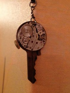 My cousin Jodie, and her daughter, are rocking it with this steam-punk jewelry at http://www.timeandtimeagainjewelry.com/keys-keyholes--more.html     Keys, Keyholes + More - Time and Time Again