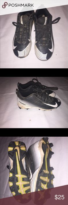 Boys Nike Vapor cleats size 6.5 Boys Nike Vapor cleats size 6.5 Nike Shoes