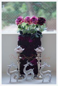 デザイン - 華造師 いしいあみ  #ディスプレイ #ディアレイヌ #JFLA #Christmas display #FLOWER #Rose #ローズ