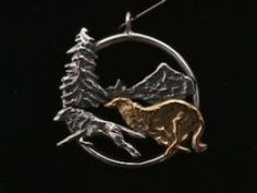 borzoi jewelry - Google Search
