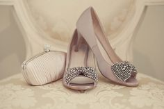 Dusky pink wedding shoes by Debenhams. Photography by www.lissaalexandraphotography.com