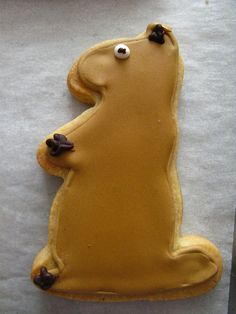 Dozen's Groundhog's Day Cookies by clairemeneely, via Flickr.