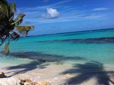 Crystal clear ocean. #Anguilla #ocean #beach