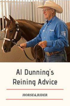 Learn reining tips from Al Dunning.