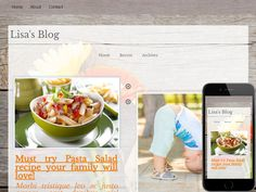 A fun and easy to customize Blogging Website loaded with features, including optional animated background images.