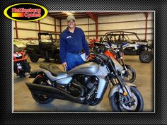 Thank you Steven Jackson from Bay Springs MS for getting a 2017 Suzuki Boulevard M109R B.O.S.S. #suzuki
