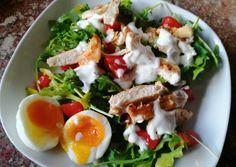 Healthy Recipes, Healthy Food, Cobb Salad, Eggs, Breakfast, Get Lean, Cook, Healthy Foods, Morning Coffee