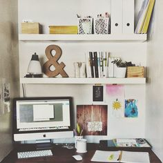 I like this style for an in-home office. -KD