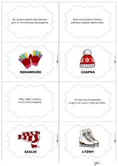 Zimowe zagadki 1 - Printoteka.pl Schools, School, Colleges