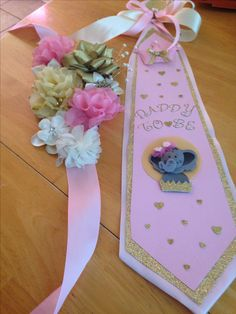Baby Shower Sash Diy Sample Design Decoromah