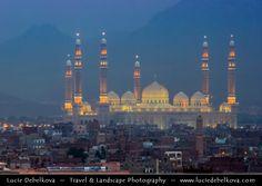 https://flic.kr/p/5aHQ5e | Yemen - Dusk over New skyline of Ancient City Sanaa…