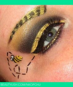 BumbleBee Makeup | Nikki K.'s (nkopchu) Photo | Beautylish