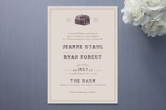 The Barn Wedding Invitations by The Social Type | Minted