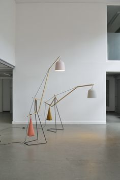 Mirriam Aust  Sebastian Amelung . a floor lamp