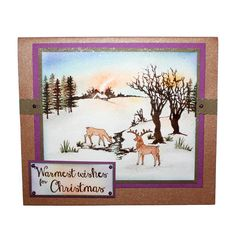 This is the gorgeous new scene-it set designed by Sharon Bennett. Clear set consists of 13 stamps. As seen on Create & Craft. This Gorgeous card was made by Anna Flanders Christmas 2016, Handmade Christmas, Christmas Crafts, Cardio Cards, Card Io, Art Cards, Create And Craft, Stamping Up, Xmas Cards