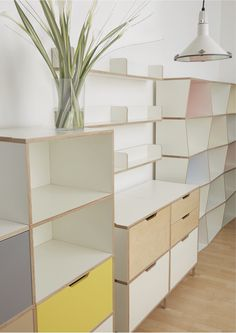 Morfus furniture can be used in many different ways, fitting your home or workspace. It can grow and develop as you do.