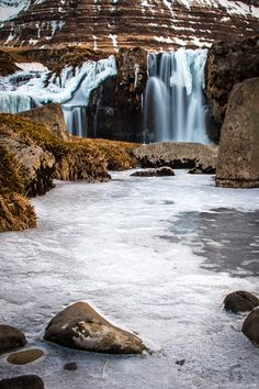 Kirjufell-waterfall in Iceland