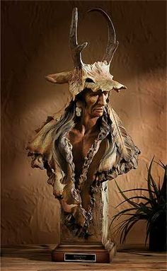 native american indian wild | Resolute Native American Sculpture-LRG | Wild Wings