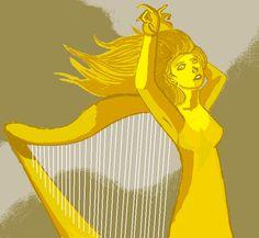 The Musical Maiden by Deshipley.deviantart.com on @DeviantArt