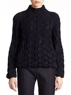 The Row - Leander Hand-Knit Sweater