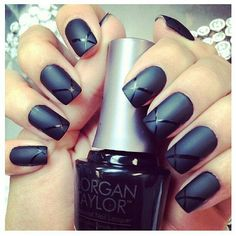 Love the matte look!  And this simple design is so pretty!!!