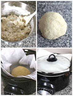 Crock pot artisan bread recipe