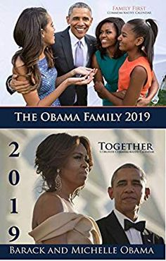 "Amazon.com : ""Twin Pack"" The Obama Family & Barack and Michelle"" 2019 Commemorative Calendars : Office Products"