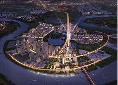 Dự án căn hộ Empire City tọa lạc ngay tại lõi thủ thiêm, hơn nữa với kiến trúc thiết kế sang trọng, hiện đại Empire City xứng tầm là một tuyệt tác kiến trúc