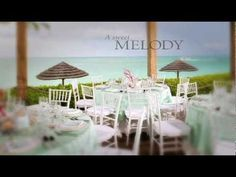 Seaside Serenade Theme - Sandals Weddings by Martha Stewart