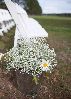 Ceremony Flowers // Photo: Roohi Photography // Event Planner: Alchemy Hour Designs // Venue: Barrington Hill