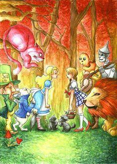 Alice in wonderland meets Dorothy