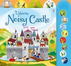 It's a noisy old life in a castle! http://www.usborne.com/catalogue/book/1~H~HMT~8872/noisy-castle.aspx  #Noisy #castle #sound #loud #board #book #knight #button #medieval #history #children #little #toddler