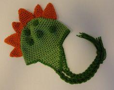 crochet dinosaur hats | dinosaur hat