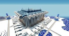 Image result for ice city minecraft