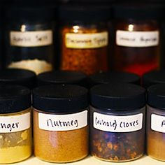 Cooking 101: Stocking A Spice Cabinet
