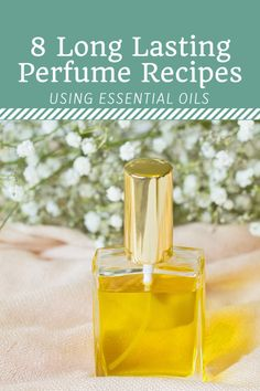 Have you ever wanted to make homemade perfume with essential oils but were unsure of which scents to blend? Here you will find 8 easy DIY recipes and a free printable worksheet to help you customize your own natural, long lasting fragrance. Perfume Diesel, Solid Perfume, Perfume Bottles, Perfume Atomizer, Parfum Bio, Fragrance Parfum, Essential Oil Perfume, Natural Beauty Products, Homemade Beauty Products