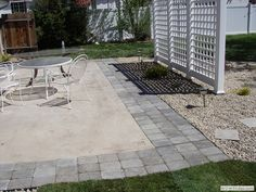 Extending an existing patio - another view | Backyard ...