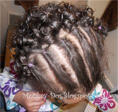 Hairstyles For Mixed Toddlers With Curly Hair | Curly Hairdo Ideas Baby Hairstyle Ideas How To Style Toddler