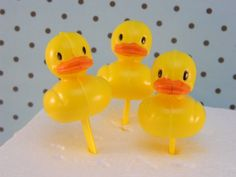 Rubber Ducky Picks / Duck / Baby Shower / Theme by ChristyMaries83