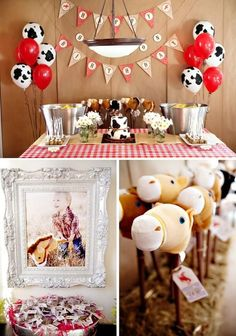 COWBOY THEMED BIRTHDAY PARTY with so many | http://partyideacollectionsconner.blogspot.com